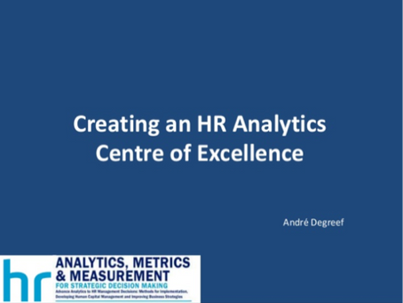 Creating an HR Analytics Centre of Excellence