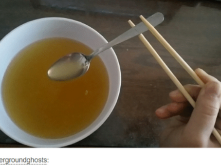 You Can't Eat Miso With Chopsticks