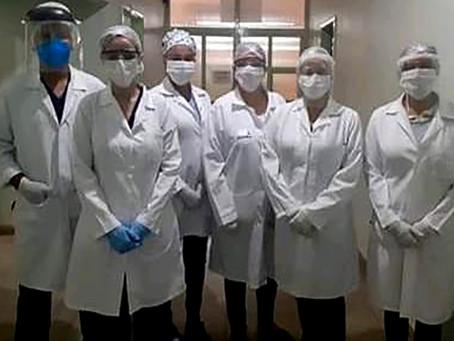 305 testes rápidos aplicados em profissionais da saúde dão resultados negativos para a Covid-19