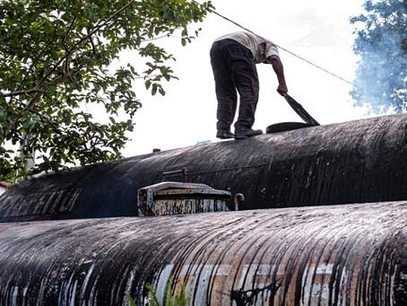Prefeitura de Brasília de minas reativa usina de asfalto e inicia operação tapa-buracos no município