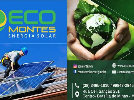 Eco Montes Energia Solar será inaugurada nesta segunda-feira 19/08 em Brasília de Minas