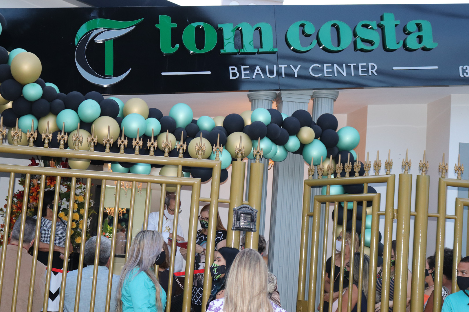 INAUGURACAO TOM COSTA BEAUTY CENTER  (83