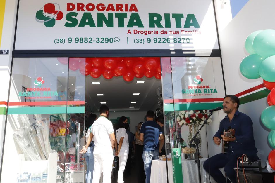INAUGURACAO FILIAL DROGARIA SANTA RITA (