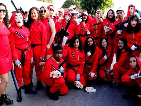 Clássicos do Cinema são tema de mais um fantástico desfile de 7 de setembro em Luislândia