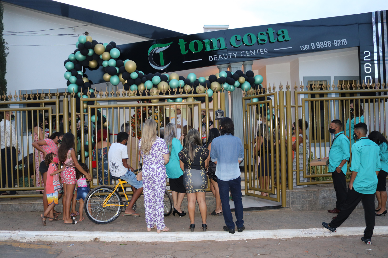 INAUGURACAO TOM COSTA BEAUTY CENTER  (84