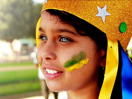 Desfile de 7 de setembro, na cidade de Ubaí, dá destaque às manifestações culturais da América Latin