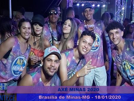 Axé Minas retorna com muita animação em Brasília de Minas
