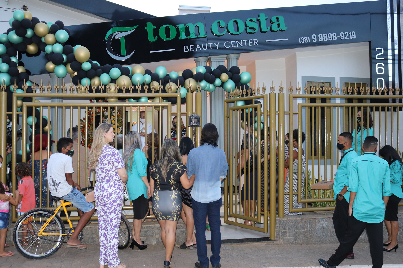 INAUGURACAO TOM COSTA BEAUTY CENTER  (85