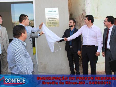 Inaugurado em Brasília de Minas o Procon Regional