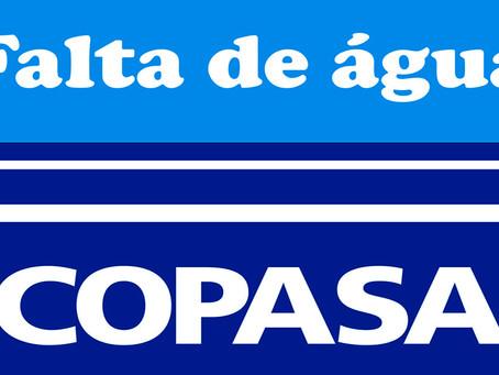 Copasa anuncia novo rodízio em Brasília de Minas. Tempo sem água passa de 10 para 24 horas em cada i