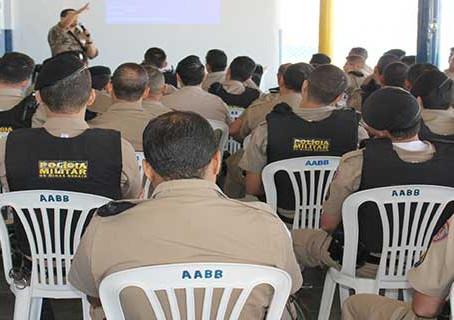 Policia faz treinamento para coibir explosão de caixas eletrônicos