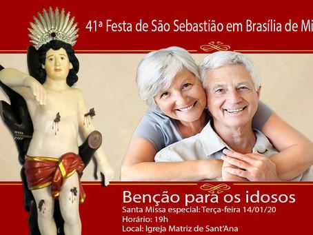 Idosos receberão Benção Especial durante as festividades de São Sebastião