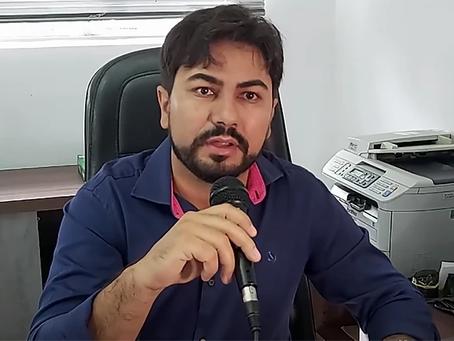 Exame do prefeito de Brasília de Minas dá negativo para a COVID-19