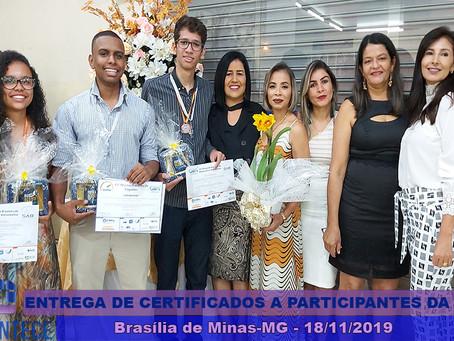 Estudantes da E.E Sant'Ana recebem certificados por conquista histórica na 22ª Jornada de Foguet
