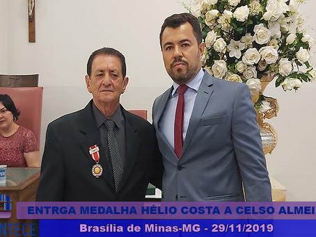 Advogado Celso Almeida Filho é agraciado com a Medalha Desembargador Hélio Costa