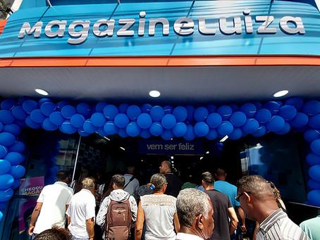 População comparece em peso na inauguração do Magazine Luiza em Brasília de Minas