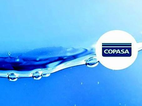 Copasa divulga rodízio em Brasília de Minas, desabastecimento vai atingir a cidade até o dia 15 de n