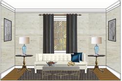 Mid-Century Modern Room