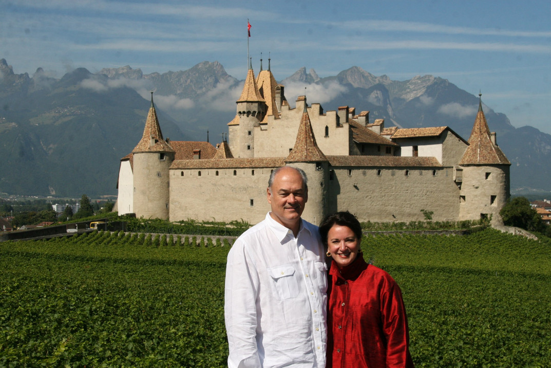 Chateau de Aigle near Lake Geneva