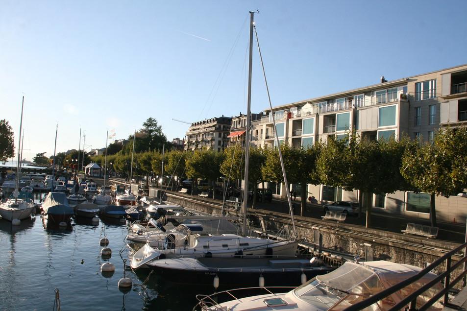 Coastline of Vevey, Lake Geneva