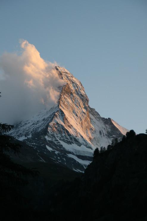 Matterhorn as seen from the Riffelalp Resort