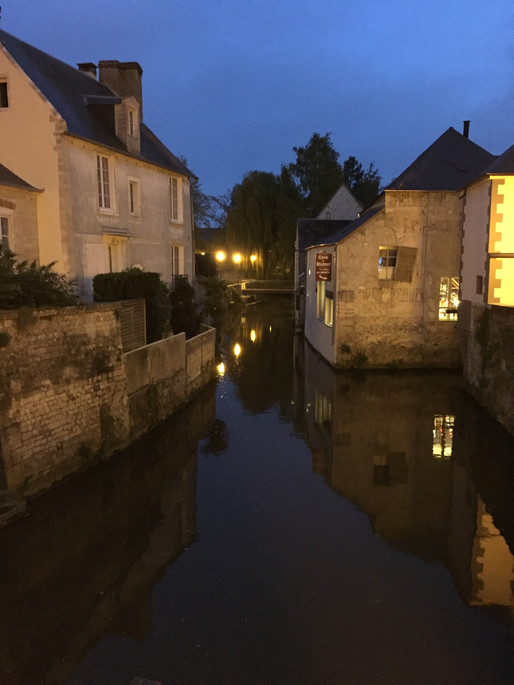 Village of Bayeaux in Normandy