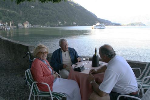 Making New Friends Along Lake Como