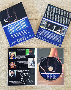 TAP OR DIE Dvd comes in a beautifully packaged box.