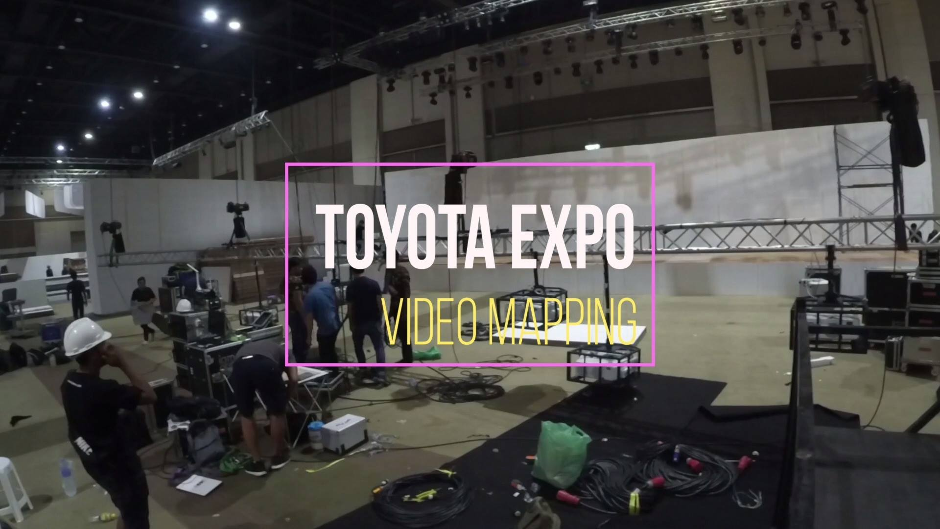 Toyota expo 2017 stage mapping.