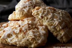 Coconut Creme Scone