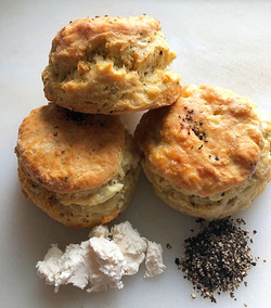 Brooklyn Biscuit Co. Goat Cheese Pep