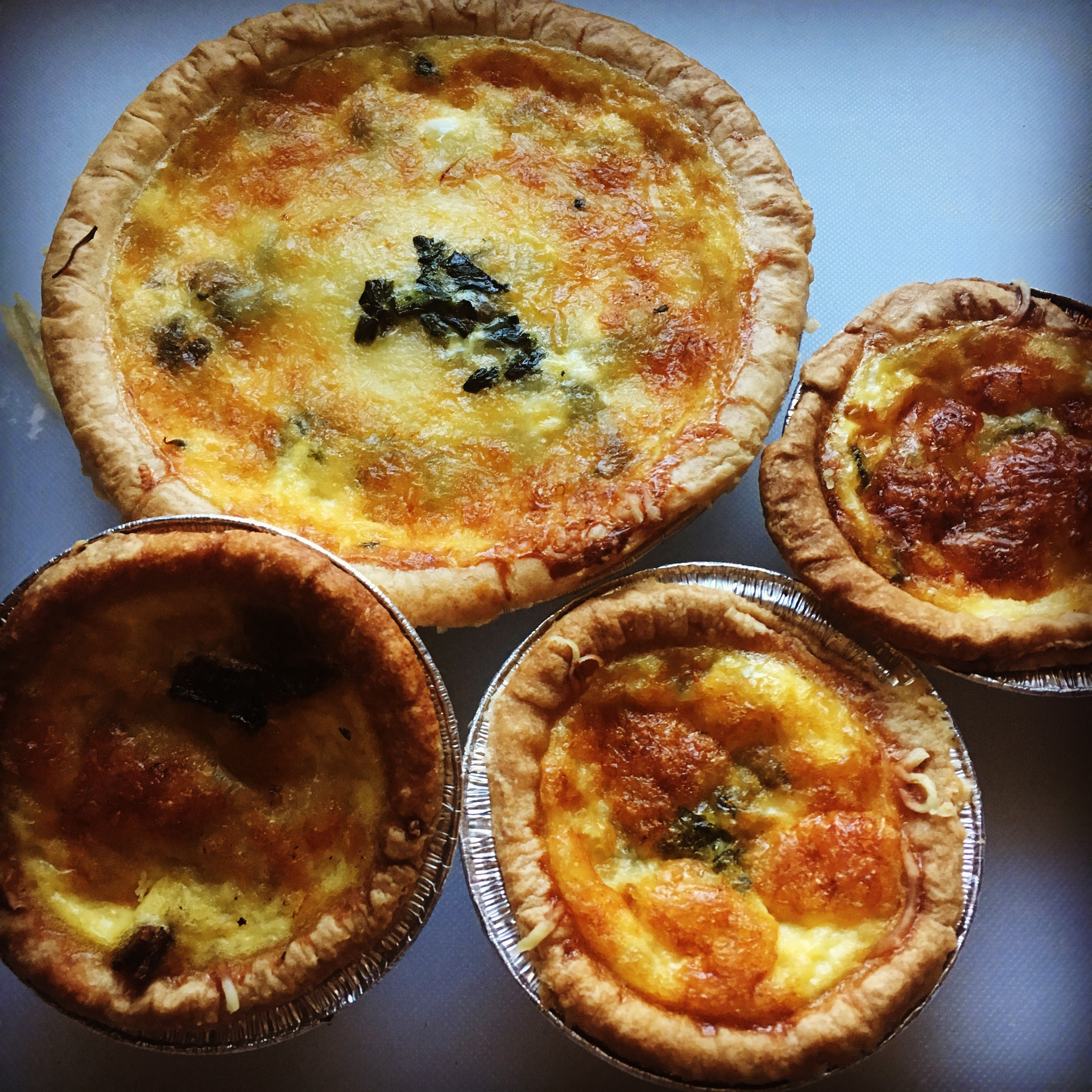 Brooklyn Biscuit Co. Quiches