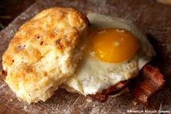 Bacon & Egg Breakfast Sandwich
