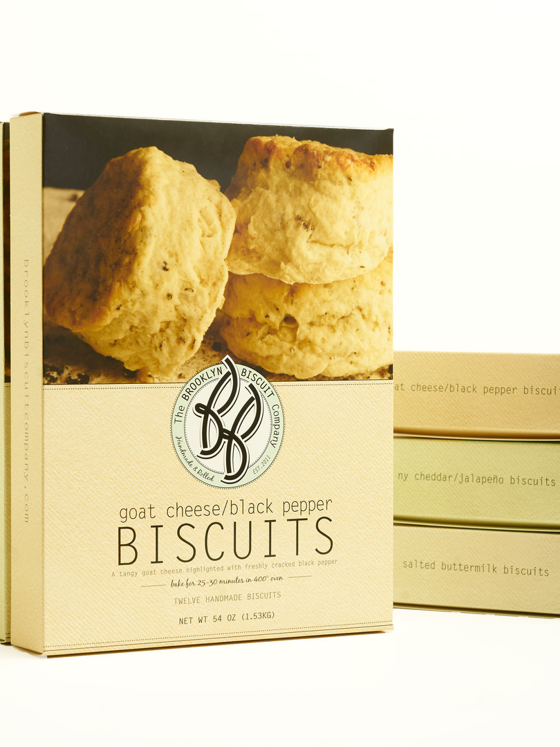Frozen Goat Cheese and Black Pepper Biscuits