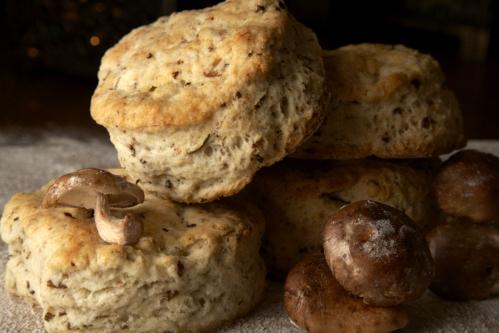 Brooklyn Biscuit Co. Mushroom Shallo