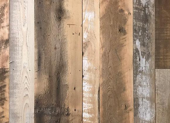 SKIP-DRESSED BROWNBOARD SHIPLAP