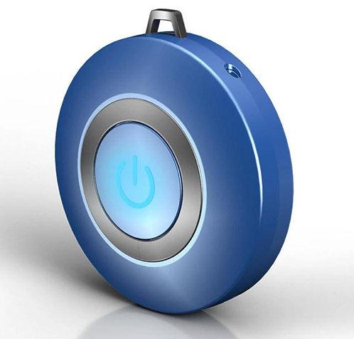 Wearable Air Purifier Pendant (Blue)