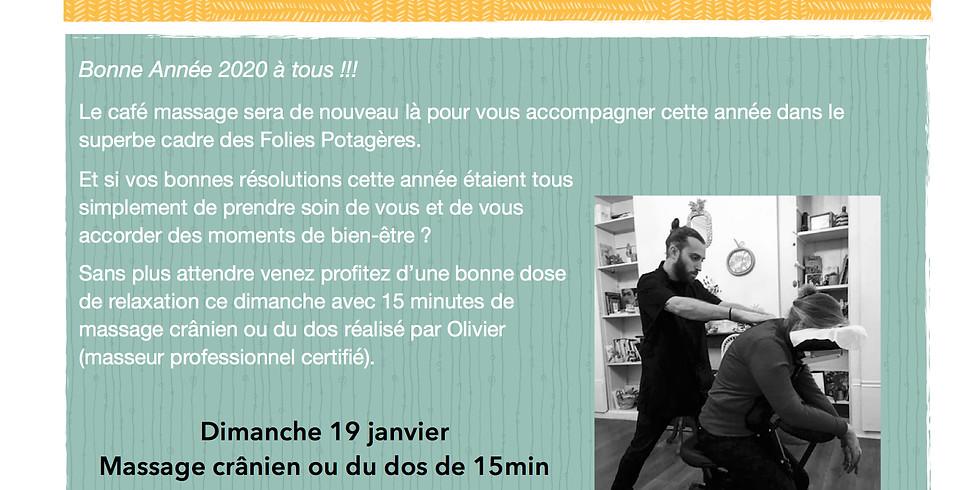 Café Massage de Janvier