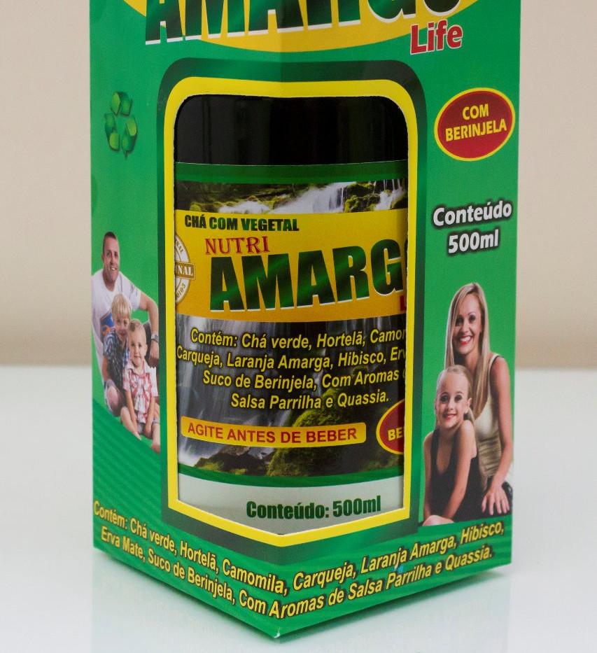 Cha com Vegetal Nutri Amargo