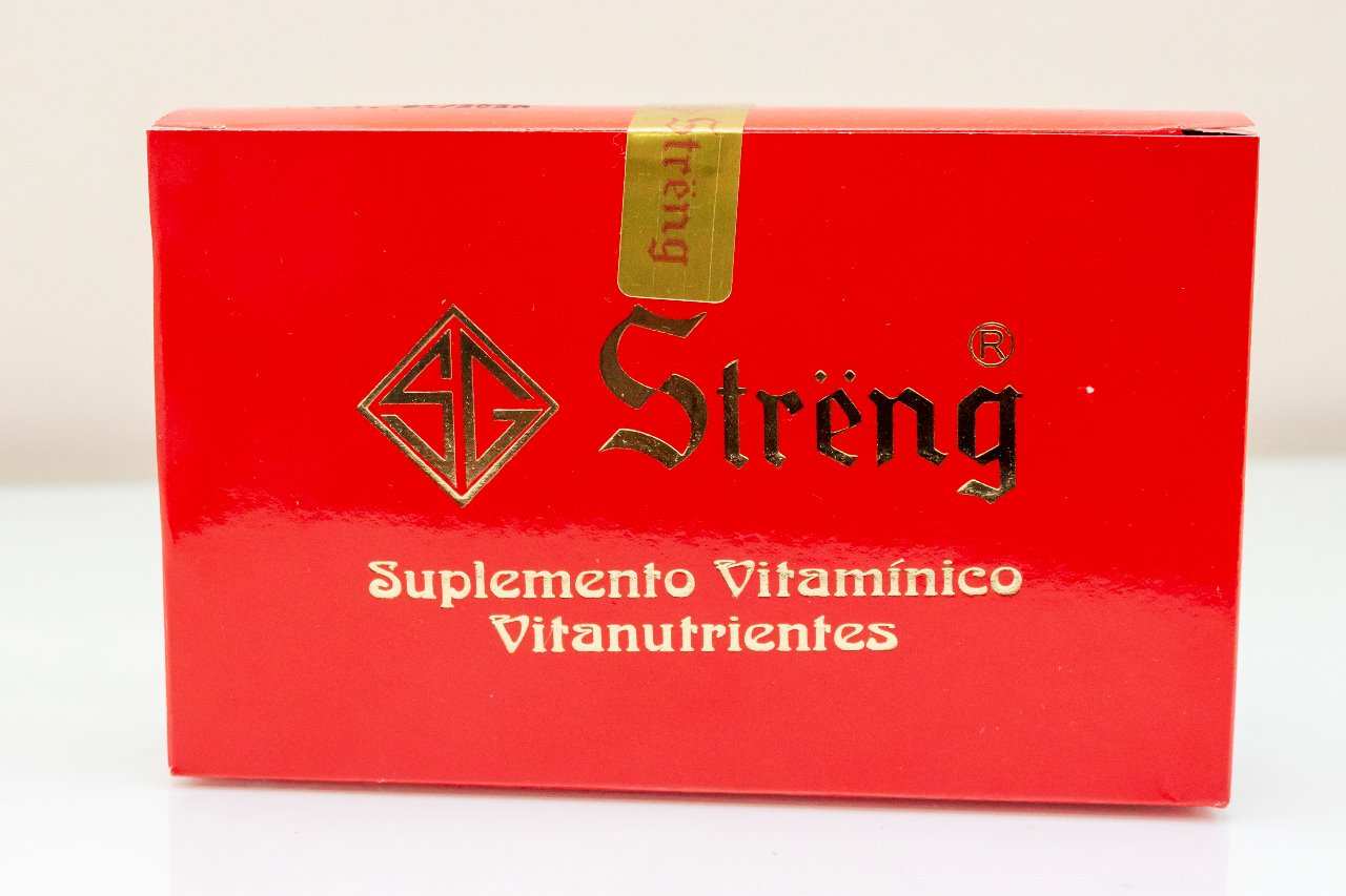 Suplemento vitamínico Streng
