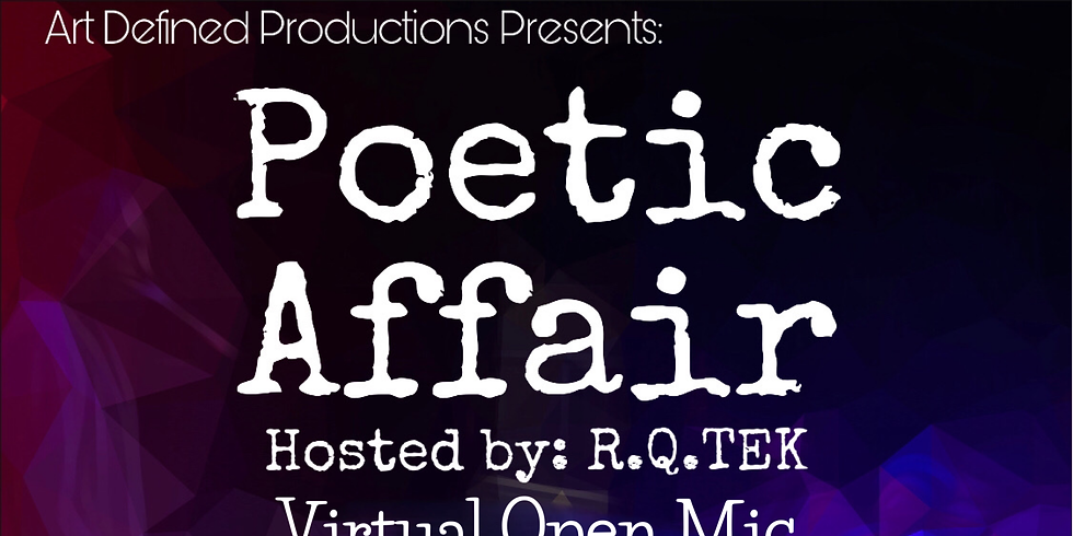 Poetic Affair LIVE on Instagram