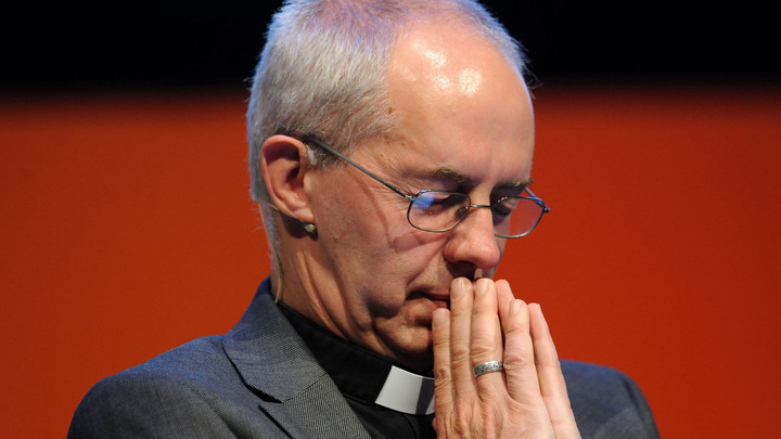 Archbishop Justin Welby is suffering from a terminal case of confirmation bias