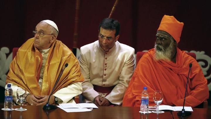 Pope's Mantra Pantheistic Mumbo Jumbo