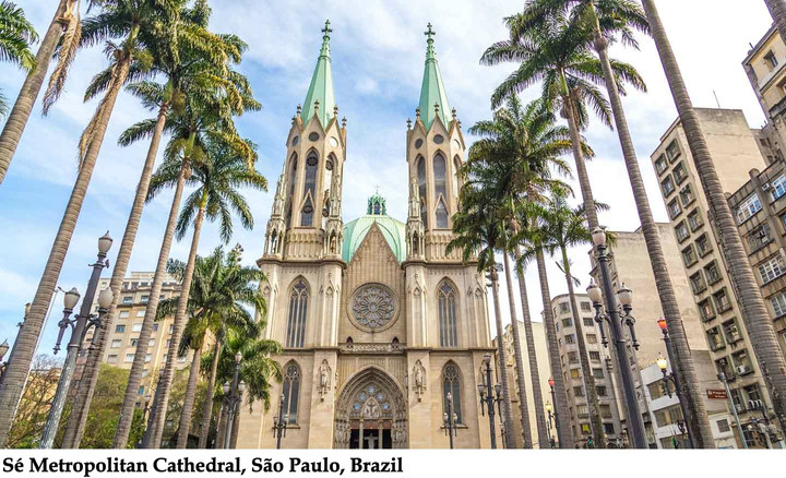 BRAZIL CATHEDRAL DESECRATED BY AMAZON SYNOD INTERFAITH SERVICE