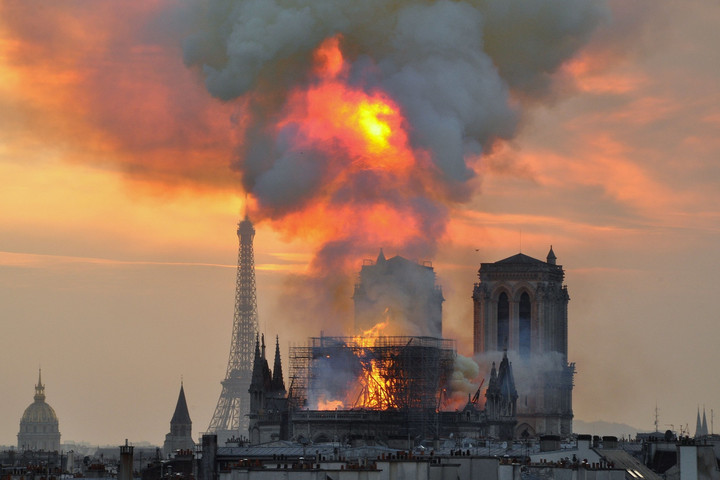 Rebuilding Notre Dame Cathedral contradicts everything secular Europe stands for