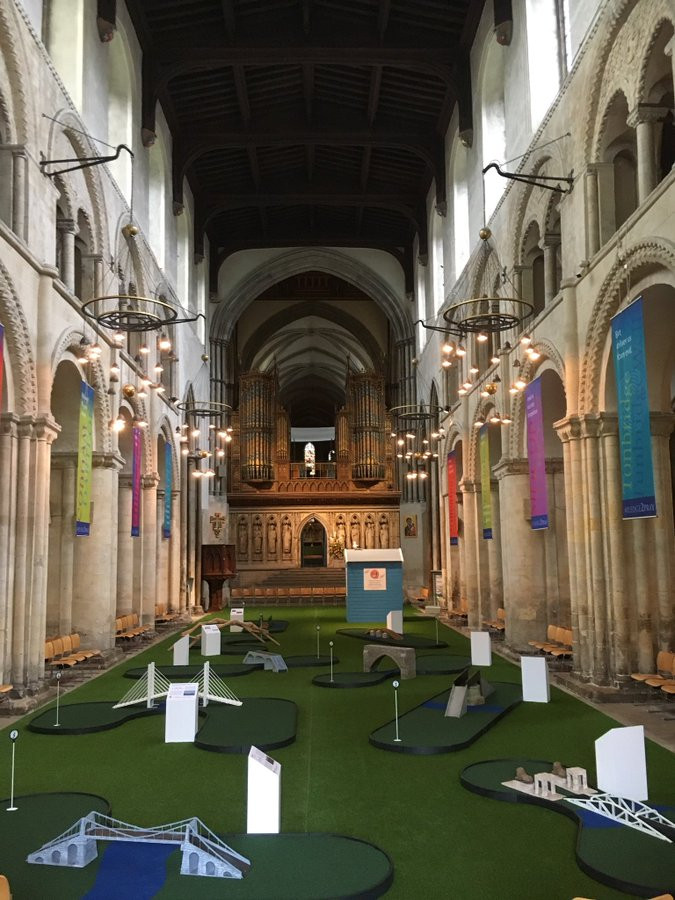 CATHOLIC FURY OVER SACRILEGE AT ST. JOHN FISHER'S ROCHESTER CATHEDRAL