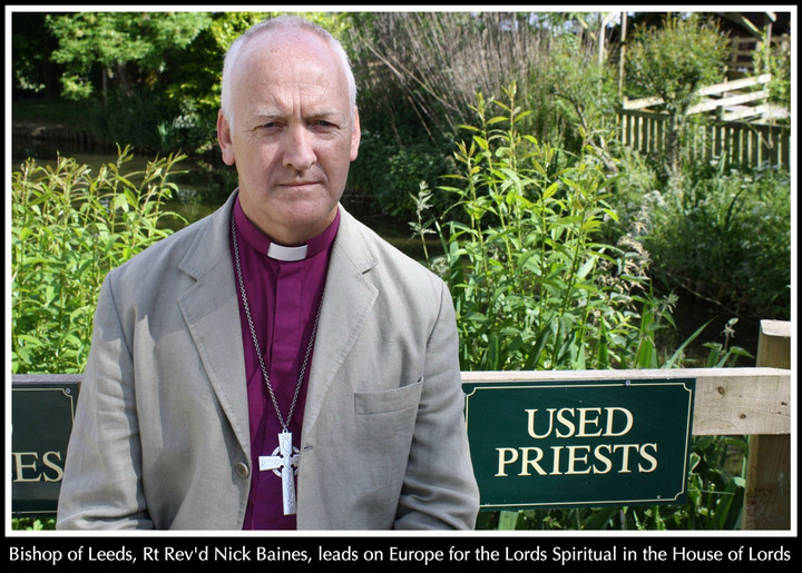 Brexit-bashing bishop says he's prophetic even if prejudiced or wrong