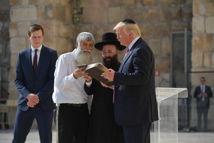 Trump's courage will live on in Jewish history