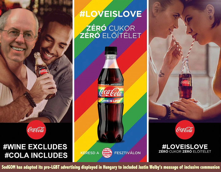 CHURCH OF ENGLAND TO SWAP COMMUNION WINE FOR COCA-COLA IN SUPPORT OF GAY RIGHTS