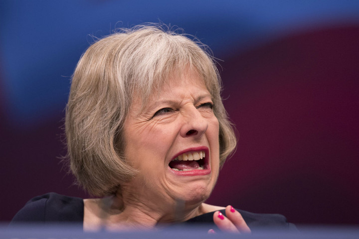 In Wonderland, Conservative means whatever the May Queen decrees